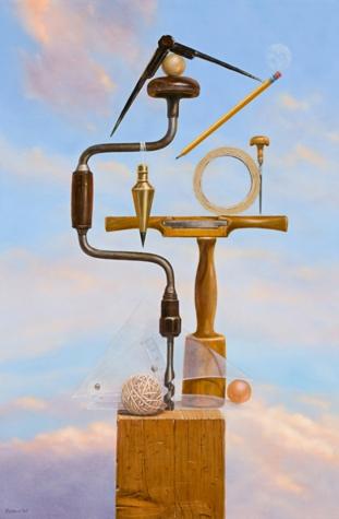 Balancing Act Originals All Artwork Richard Hall Fine Art